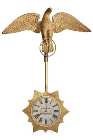 Decorative object - Swinging Clock, Charles Frederick Falck, 1870