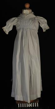 Clothing, baby's calico nightgown