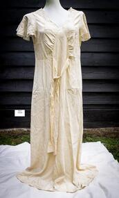 Clothing, lady's silk nightgown c1930