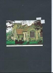 Photograph, postcard, colour, St Michael & All Angels Church Withyham, Sussex, c1990