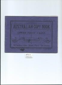 Education,  Booklet, Australian Copy Book   1907, c1907