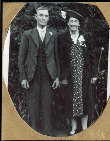 Alfred Amos(1868-1949) and his wife Gertrude Emma Box (1872-1957) - 1941
