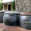 Set of Cast iron pots - manufactured by T. & C. Clark & Company Limited.