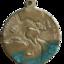 1945 Australian Victory Medal reverse side