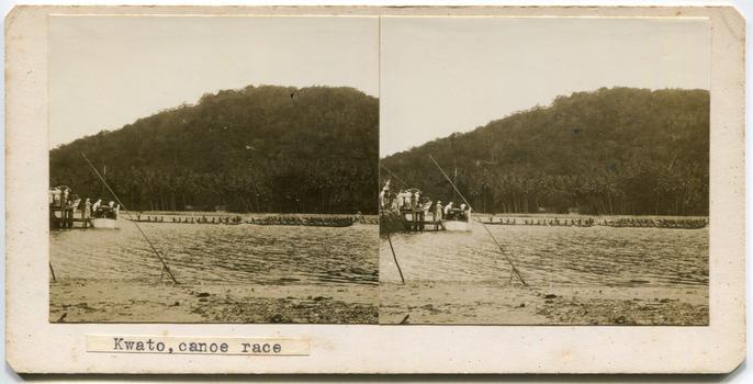 Kwato, canoe race