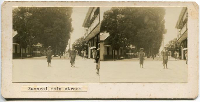 Samarai, main street