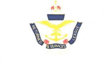 Badge - RSL Affiliate, 20th Century