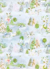 Decorative object - Wrapping Paper, Hallmark Christmas wrapping paper, 1960s