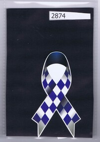 Badge, Police Blue Ribbon Foundation fundraiser, 2016_