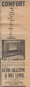 Advertisement - Digital image, Diamond Valley News, Gillespie and Lewis 1966, 19/04/1966