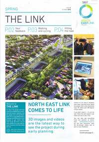 Newsletter, The Link: issue 05 October 2018, Oct 2018