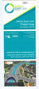 Leaflet, North East Link Authority, North East Link: project map October 2018, 2018_10