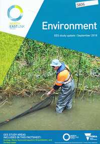 Pamphlet, Victorian Government, Environment: EES study update, 2018_09