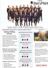 Advertising Leaflet, Barry Plant Bundoora, Barry Plant Spring selling season, 2018_08