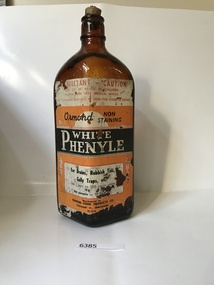 Bottle, Ormond Home Products Co, Phenyle bottle, 1960c