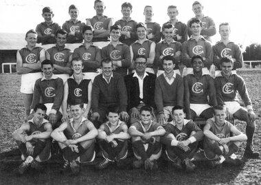 Photograph, Greensborough under 17 football team 1961, 1961_