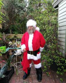 Photograph - Digital Image, Marilyn Smith, Were Street Christmas celebrations 2018. Father Christmas, 2018_12