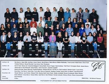 School Photograph - Digital Image, Rosie Bray et al, Greensborough Secondary College 1990 Year 12 Gr8750, 1990_