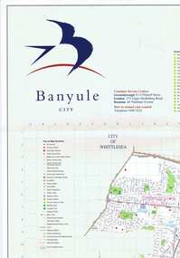 Map, Banyule City, September 1996