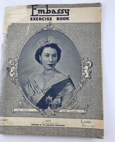 Book - Exercise Book, Embassy exercise book, 1950s