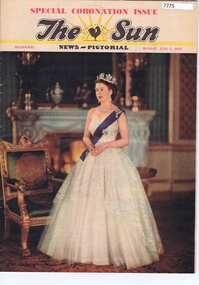 """Newspaper, The Sun News-Pictorial: """"Coronation Issue"""" edition 01/06/1953, 01/06/1953"""