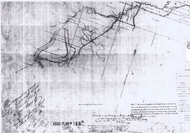 Document - Road Plan, Road acquisition, St Helena Road, 1859, 1889