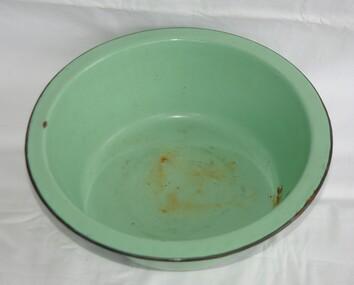 Domestic object - Bowl, Enamel bowl, 1950c