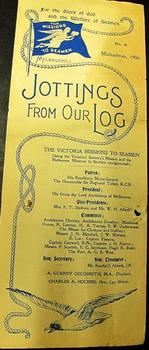 Magazine (series) - Newsletter, Jottings From Our Log, 1906