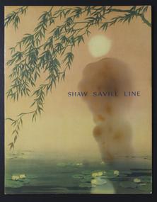 Menu, Shaw Savill Line, Shaw Savill Line SS Athenic, Maiden Voyage, 30/8/1947