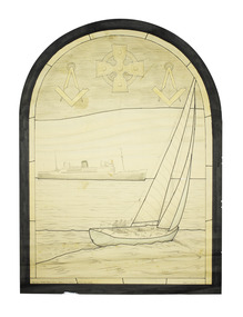 Sketch for stained glass window
