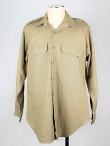Shirt, Khaki, Summer Dress, 1991
