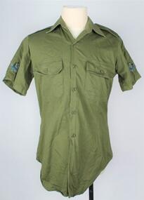 Shirt, Green, Field Dress, 1982