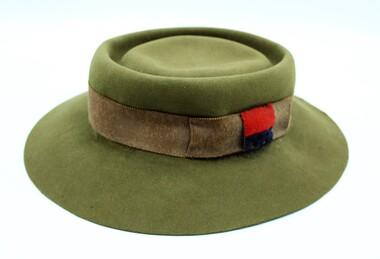 Hat, Khaki, Fur Felt, WW2 (Womens), 1943