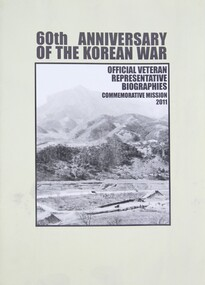 60th Anniversary Booklet of the Korean War, 2011