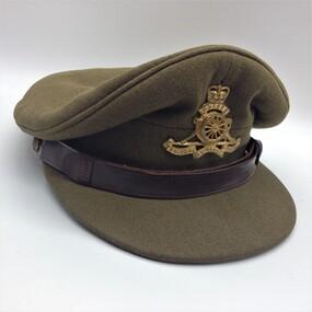 Cap, Peaked, Dress, Royal Australian Artillery, 1951