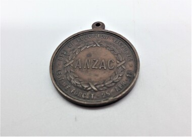 Medallion, ANZAC, Victorian Department of Education 1916, 1916