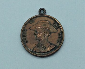 Medallion, ANZAC, Victorian Department of Education 1918