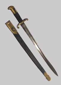 1855 Pattern Lancaster 'Sappers and Miners' Sword Bayonet, Carl Reinhard KIRSCHBAUM, 1855