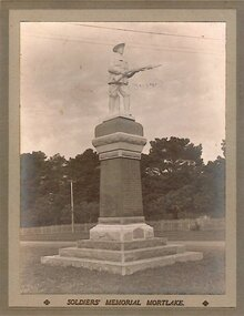 Photograph, Mortlake War Memorial