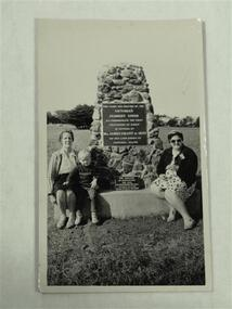 Black and White Photograph, Churchill Island Cairn, 04/11/1968