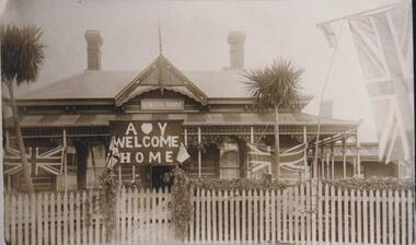 Photograph, Genesta Guesthouse, Cowes, Phillip Island, 1914