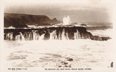 Photograph, Southern Coastline of Phillip Island, c 1926