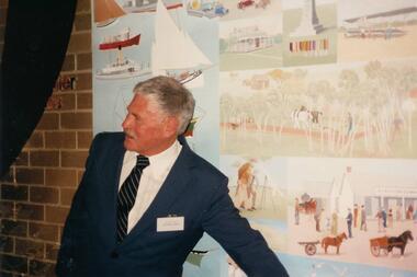 Photograph, Eric Juckert Mural, 1988