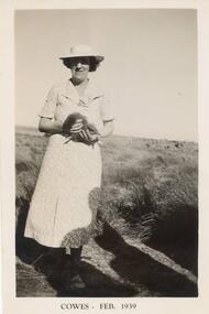 Photograph, Lady & Mutton Bird, Feb 1939