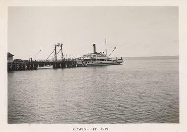 Photograph, Killara Ferry, Feb 1939