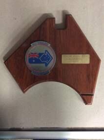 wooden plaque, Australia Day Citizen Award, 1993
