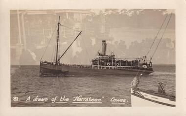 "Postcard (collection) - The ""Narrabeen"" Ferry"