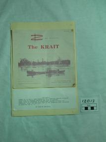 Newsletter, Commando Association, MV Krait, After 1966
