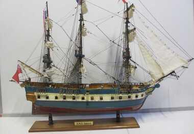Model ship, HMS Sirius