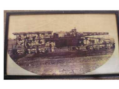 Copied Photos, The Amiens Gun, WW1